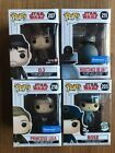 Star Wars The Last Jedi Funko Pop Lot Princess Leia 218 DJ 207 All Exclusive