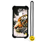 Case for ZTE N818S QLink Wireless Case Silicone border + PC hard backplane Stand