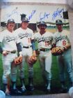 70'S & 80'S LOS ANGELES DODGERS INFIELD SIGNED 11X14 CEY RUSSELL GARVEY LOPES