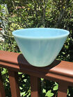 Vintage Fire King Turquoise Delphite Splash Proof Mixing Bowl HTF