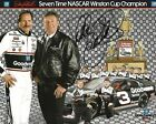 DALE EARNHARDT SIGNED AUTOGRAPHED WINSTON CUP CHAMPION 8X10 NASCAR GOODWRENCH