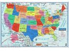 United States WALL MAPS Poster Size 40