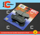 1987 - 1988 HONDA CBR 1000 F HURRICANE - REAR EBC PERFORMANCE ORGANIC BRAKE PADS
