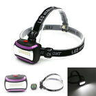 Headlight XPE + 2 LED Torch Bright Head Torch 4 Mode Camping Fishing Flashligt