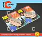 2017 KAWASAKI ER 650 Z650 - FRONT EBC HH RATED SINTERED BRAKE PADS - 2 PAIR