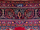 10x13 SIGNED PERSIAN RUG ANTIQUE RED HAND KNOTTED RUGS IRAN woven made 9x12 9x13