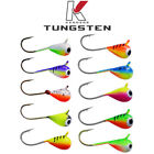10 Pack Tungsten Jigs Bright UV TOP QUALITY Kenders Outdoors CHOOSE YOUR SIZE