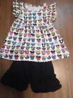 Boutique Disney Outfit Girls size 7 8T New In Package