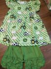 Boutique Girls John Deer Outfit 6 7T New In Package