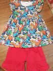Boutique Girls Superhero Outfit 6 7T New In Package
