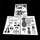 diy craft layering stencils template for walls painting scrapbooking stamping HU