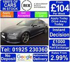 2016 GREY AUDI A7 SPORTBACK 30 TDI QUATTRO BLACK EDITION CAR FINANCE FR 104 PW