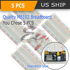 Lot Half Mb-102 400 Point Prototype Pcb Solderless Breadboard Protoboard