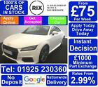 2016 WHITE AUDI TT 20 TDI ULTRA S LINE DIESEL 2DR COUPE CAR FINANCE FR 75 PW
