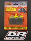 Laverda OR 600 Atlas 1986-1990 SBS Dual Carbon Front Brake Pads 519DC