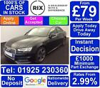 2016 BLACK AUDI A4 20 TDI 190 S LINE DIESEL 4DR SALOON CAR FINANCE FR 79 PW