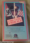 Codename: Emerald VHS '86 ED HARRIS, Max Von Sydow & Horts Buchholz D-Day Nazi