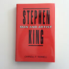 STEPHEN KING Man and Artist Carrol F Terrell Signed Limited Edition RARE