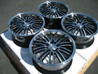 16 Wheels Ford Escort Honda Accord Civic Fit Sentra Scion xA xB Black 4x100 Rim
