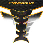 New ProGrip 3D Fuel Gas Tank Pad Protector Decal V1 Perforated Black Gold Red