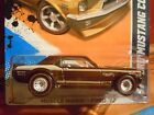 2012 Hot Wheels Super Treasure Hunt 1967 Brown Ford Mustang Coupe Muscle Mania