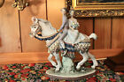 Lladro # 1472 - Valencian Couple On Horse - with COA