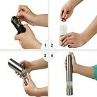 Premium Electric SaltPepper GrinderBattery Operated Stainless Steel Shaker
