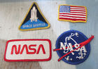 VINTAGE 1980S NASA SPACE SHUTTLE PATCHES 4 COOL