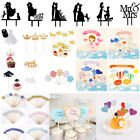 Multi style Cake Toppers Baby Shower Birthday Party Wedding Cupcake Decor Supply