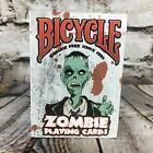 Bicycle Zombie Playing Cards 52 Card Deck Sealed 2012