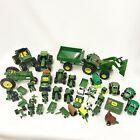 Large Lot ERTL John Deere Farm Tractors Vehicles Diecast Plastic D2