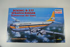Minicraft 1/144 Transocean Airlines Boeing B-377 Stratocruiser Kit - 14466