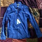 """Tommy Hilfiger Mens Blue Suglasses Print Button Down Shirt - 15.5"""" / Small"""