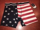 U.S. POLO ASSN. Red White & Blue American Flag BOXER BRIEF Size M NEW NWT