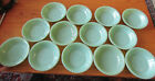 13 Fire King Oven Ware 4 2/3 inch Dessert Dishes in Jadeite Green, very nice lot