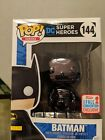 Funko Pop! Black Chrome Batman #144 Fall Convention Exclusive NYCC 2017 In Hand!