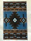 South West Native American Door Mat Area 2 Feet X 3 4 Inch Blue brown