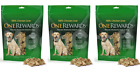3 Packs One Rewards 100 Chicken Liver Freeze Dried Dog Treats Rich in Protein