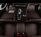 Car Floor Mat For 3pc 2009-2013 Bmw 5 Series Pu Leather Floor Liner Carpets