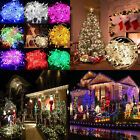 New 10M 20M 100 200 LED Fairy Christmas Xmas Tree String Lights Party Waterproof