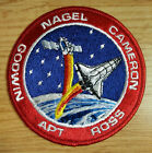 NASA STS 37 Patch Space Shuttle Atlantis Mission Crew Astronaut Apt Ross Nagel