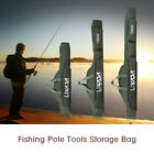 Fishing Pole Gear Tackle Tool Carry Case Carrier Travel Bag Storage Bag Green