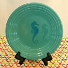 Fiestaware Seahorse Trio Lunch Plate Turquoise Fiesta Exclusive 9 in Luncheon