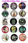 Zombie Pin Up Girls Sexiest Cold Girls Ever 15 Precut Photo Bottle Cap Images