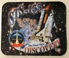 STS 133 SPACE SHUTTLE MISSION THE FINAL FLIGHT OF DISCOVERY COMPUTER MOUSE PAD