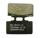 EBC Brakes SFA151 Scooter Brake Pads for Sym Mio 50 (05-14) and DD50 (02-12.)