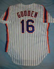 AUTHENTIC Rawlings Dwight Doc Gooden NEW YORK METS NY Jersey Pinstripe 1986 44 L
