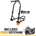 Venom Motorcycle Triple Tree Headlift Front Wheel Lift Stand+Sportbike Keychain