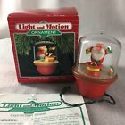 Hallmark Light and Motion Ornament On With The Show Santa 1988 Santa Sparky