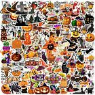 100 Halloween Holiday Stickers Vinyl Decals Lot for Kid Trick Treat Party Gift